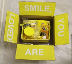 The Moore Family: A little box of sunshine