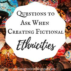 Questions to Ask When Creating Fictional Ethnicities - Quill Pen Writer Writing Promps, Book Writing Tips, Writing Characters, Writing Quotes, Fiction Writing, Writing Resources, Writing Help, Writing Guide, Writing Software