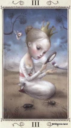 III. The Empress - Nicoletta Ceccoli Tarot by Nicoletta Ceccoli