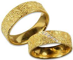 750/- Gelbgold Trauringe, Damenring mit 6 Brillanten. #schmuck #fingerschmuck #ringe #trauringe #gelbgold #hochzeit #hochzeitsringe #wedding #atelierreister #madeingermany #hamburg #bergedorf #jeankoch