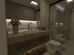 Lavabo - Apartamento Residencial Condomínio Ed. Palazzo Fiorentino