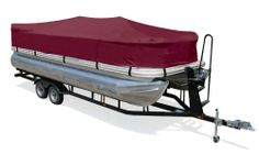 "Taylor Made Products Trailerite Semi-Custom Boat Cover for Pontoon Boats (21'1"" to 22' Center Line Length / 96"" Beam, Cranberry Coated Poly) - http://boatpartdeals.com/boat-covers/taylor-made-products-trailerite-semi-custom-boat-cover-for-pontoon-boats-211-to-22-center-line-length-96-beam-cranberry-coated-poly-10/"