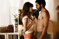 Sheila Marquez e Christopher Abbott Free People, por Guy Aroch. Christopher Abbott, Guy Aroch, Snoring Remedies, Free People Blog, Album, Before Us, All You Need Is Love, Short Film, Love Story