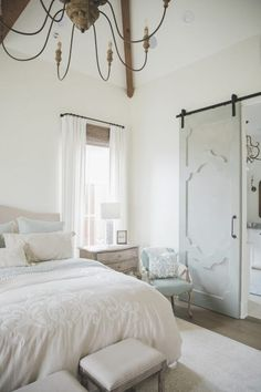 30 Best French Country Bedroom Decor and Design Ideas for 2021 French Country Rug, French Country Bedrooms, French Country Living Room, French Country Decorating, Country Style, French Cottage, French Style, Country Bathrooms, Country Kitchens