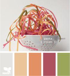 Les pâtes de couleur... On en rafole sur #iGraal !