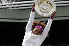 Serena Williams: Two Wimbledon championships in a day!