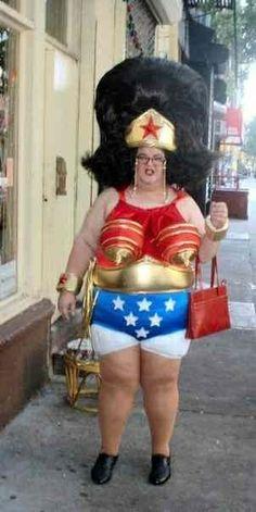 Omg!! Wonder Woman.... I wonder....PMSL!