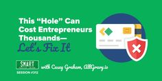 "SPI This ""Hole"" Can Cost Entrepreneurs Thousands—Let's Fix It – Smart Passive Income Passive Income, Spy, Entrepreneurship, Online Business, Thankful, Let It Be, Shit Happens, Canning, Startups"