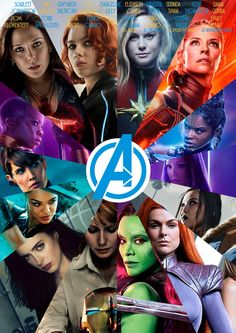 Marvel Avengers in Endgame Avengers Women, Avengers Girl, Marvel Women, Marvel Avengers, Marvel Comics, Marvel Heroines, Marvel Fan, Captain Marvel, Marvel Girls