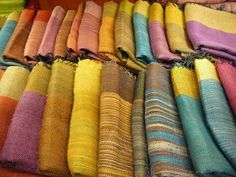 Thai silk at Jim Thompson's silk shop in Bangkok | Flickr - Photo Sharing!