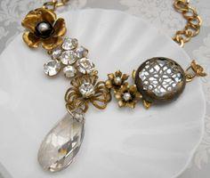 Boheme Jewelry : Vintage Necklace Remake.