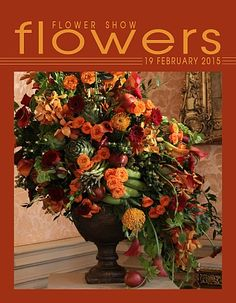19 February 2015… The Year in Flowers Traditional Mass Design Newport RI Flower Show 2011 www.flowershowflowers.com