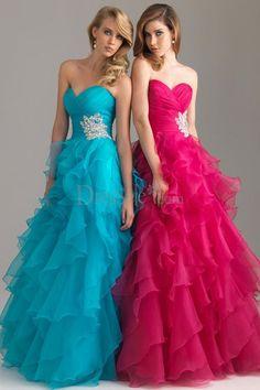 Cutie Crisscross Sweetheart Neck Princess Prom Gown with Stunning Ruffle Skirt