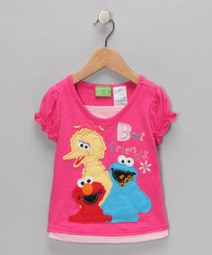 You had lots of sesame street clothes, books,  and toys