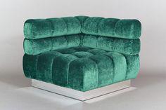 Todd Merrill Custom Originals, Double Back Tufted Sectional Seating, USA, 2015 | Todd Merrill Studio