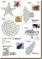More ocean crochet appliques . . . .   ღTrish W ~ http://www.pinterest.com/trishw/  . . . .