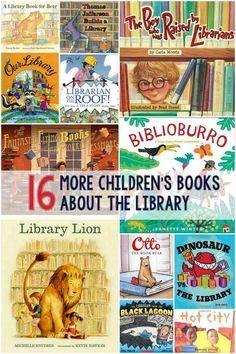 Several months ago I shared a list of 16 children's books about the library. It…