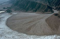 Alluvial fan in Death Valley. Reminds me of Dad shouting excitedly 'Ohhh just look at that fantastic alluvial fan'