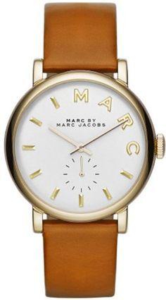 Marc Jacobs - MBM1316 - Montre Femme - Quartz Analogique - Bracelet Cuir Beige