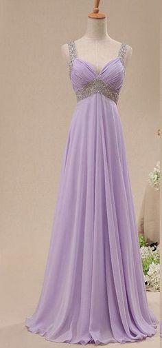 Charming Prom Dress,V-Neck Prom Dress,A-Line Prom Dress,Sequined Prom Dress,Chiffon Prom Dress