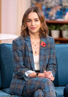 Emilia Clarke compares her real-life illness to that of her Last Christmas character Kate Daenerys Targaryen, Khaleesi, Christmas Characters, Princesa Diana, English Actresses, Beautiful Actresses, Beautiful People, Beautiful Women, T Shirts