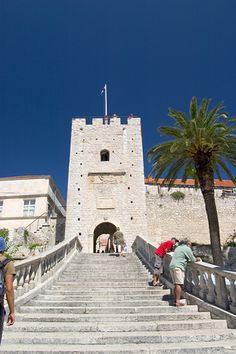 Croatia, Korcula City Entrance by johnb10175, via Flickr