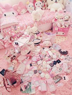 Blippo Kawaii Shop ♥ Cute Japanese gifts, candy, stationery & accessories with Free international. Pastel Room, Pastel Pink, Kawaii Bedroom, Otaku Room, Kawaii Gifts, Girly, Cute Room Decor, Cute Stationery, Kawaii Shop
