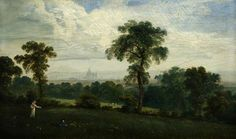 Distant View of London, by John Martin Collection: Glasgow Museums Your Paintings, Beautiful Paintings, John Martin, Glasgow Museum, English Romantic, London History, Landscaping With Rocks, Art Uk, London Art
