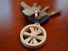 Nice little propeller key chain that spins. Enjoy!