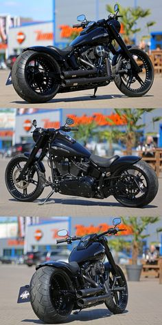 Harley-Davidson Fat Boy S customized by Thunderbike
