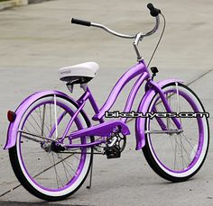 I want a purple bike beach cruiser. I have a yellow but I Want purple!