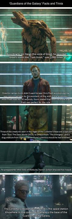 Some Guardians Of the Galaxy Facts The Movie Won't Tell You