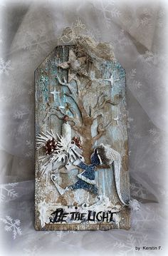 Christmas Tag, Christmas Crafts, Christmas Packages, Christmas Ideas, Xmas Cards, Holiday Cards, Tim Holtz, Pocket Letters, Winter Cards