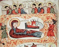 The Nativity, from a Gospel Armenian School
