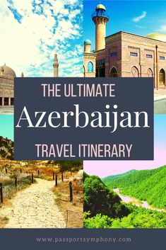 Azerbaijan's unique location brings the best from both, the East and the West and even the country's name sounds very exotic. Even though it's a difficult task, in this article, we'll share some of the best places to visit in Azerbaijan. Europe Destinations, Europe Travel Tips, Asia Travel, Travel Guides, Travel Articles, European Travel, Croatia Travel, Hawaii Travel, Travel Packing
