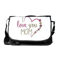 Truly Teague Laptop Notebook Messenger Bag I Love You Mom Burlap and Pink Heart electronic gifts for women I Love You Mom, Electronic Gifts, Notebook Laptop, Drawstring Backpack, Gifts For Women, Messenger Bag, Gym Bag, Burlap, Heart