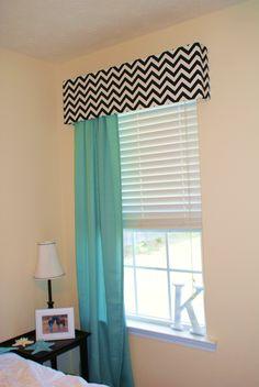 Contemporary cornice gray chevron modern cornice board for Bedroom cornice design