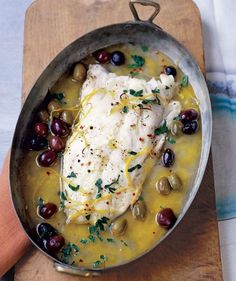 Cajun Delicacies Is A Lot More Than Just Yet Another Food Roasted Pacific Cod With Olives And Lemon 23 Delicious Fish Recipes For Busy Weeknights Cod Recipes, Fish Recipes, Seafood Recipes, Dinner Recipes, Cooking Recipes, Healthy Recipes, Cooking Fish, Recipies, Water Recipes