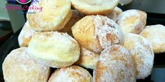 Gogosi pufoase - Anyta Cooking Hamburger, Sweets, Bread, Food, Sweet Pastries, Meal, Goodies, Brot, Eten