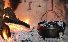 Dutch Oven Recipe: Chicken with Morel Mushrooms Cast Iron Cooking, Oven Cooking, Recipe Chicken, Chicken Recipes, Dutch Oven Camping, Classic French Dishes, Canoe Camping, Dutch Ovens, Dutch Oven Recipes