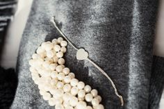 Pearls and Tiffany & co  silver bracelet #tiffany  http://skiglari-norppa.blogspot.com