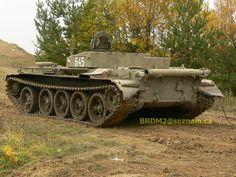 Vojenská technika ČSLA a AČR - Fotoalbum - Tanky - Školní tank T-55C