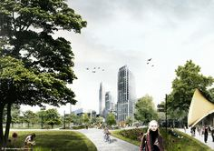 DELVA Landscape Architects to Revive The Hague's Historic Centre With Interconnected Urban Greens
