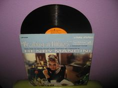 Vinyl Record Album Breakfast at Tiffany's by JustCoolRecords, $25.00 Apartment Party, Tiffany's Bridal, Breakfast At Tiffanys, Soundtrack, Vinyl Records, Vegas, Album, Breakfast At Tiffany's, Card Book
