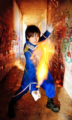Roy Mustang - Fullmetal Alchemist cosplay by Hikari Kanda #Fullmetal Alchemist #cosplay