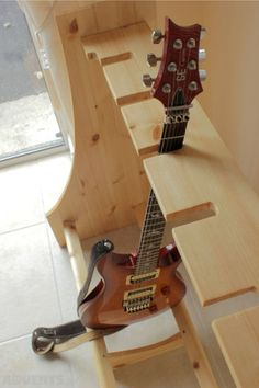 Pine Wood Multiple Guitar Stand, Used Guitar Accessories For Sale in Barntown, Wexford, Ireland for 70.00 euros on Adverts.ie.