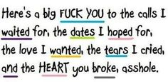 Quotes For > Break Up Quotes For Him From The Heart