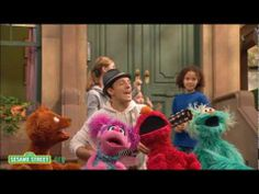 Love when celebrity singers sing on Sesame Street. My students love these songs and videos!