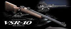 Tokyo Marui vsr-10 real shock wooden version