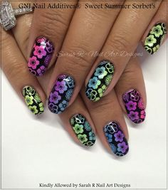 GNI Nail Additives® *Sweet Summer Sorbet* Suitable for ALL Nail Mediums